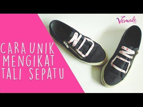 DIY Bikin Tali Sepatu Bentuk NO, Gampang Banget! - YouTube