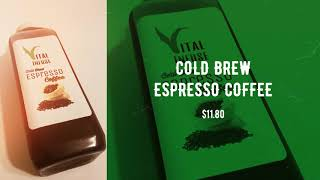 K.Graham LLC, Vital Infuse - COLD BREW ESPRESSO COFFEE