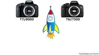 فرق شاسع بين كاميرا كانون 800d و 750d اشترى ايه!