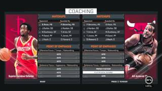 NBA 2K15 Tip - Best Point of Emphasis Set Ups! (NBA 2K15 Tips & Tricks)