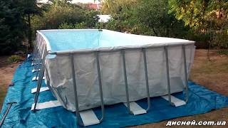 Каркасный бассейн Bestway 56474 - дисней.com.ua