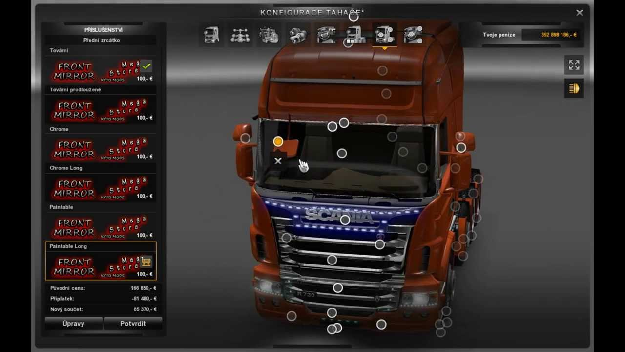 Euro Truck Simulator 2 Mega Store mod 1.8 Part I Scania ...
