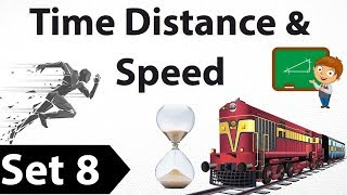 Time Speed Distance aptitude tricks Set 8 - SBI & IBPS PO Clerk/Bank PO / LIC / SSC CGL/CHSL/LDC/MTS