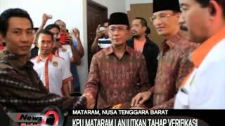 Pilkada 2015 KPU Kota Mataram Lanjutkan Proses Verifikasi Calon Walikota - iNews Malam 06/09