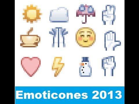 Nuevos Emoticones Facebook