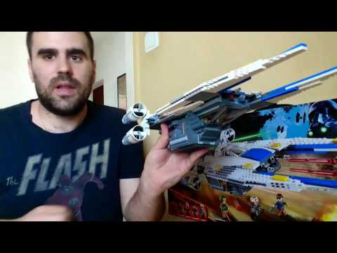 07# Lego Star Wars U-Wing fighter bemutató, elemzés