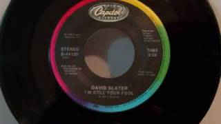 David Slater - I