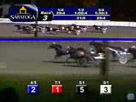 Saratoga Harness Raceway9.3gp