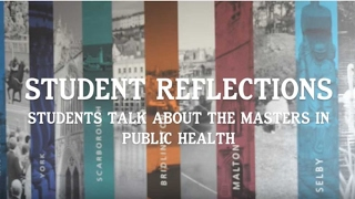Student Reflections: Students Talk About Masters in Public Health