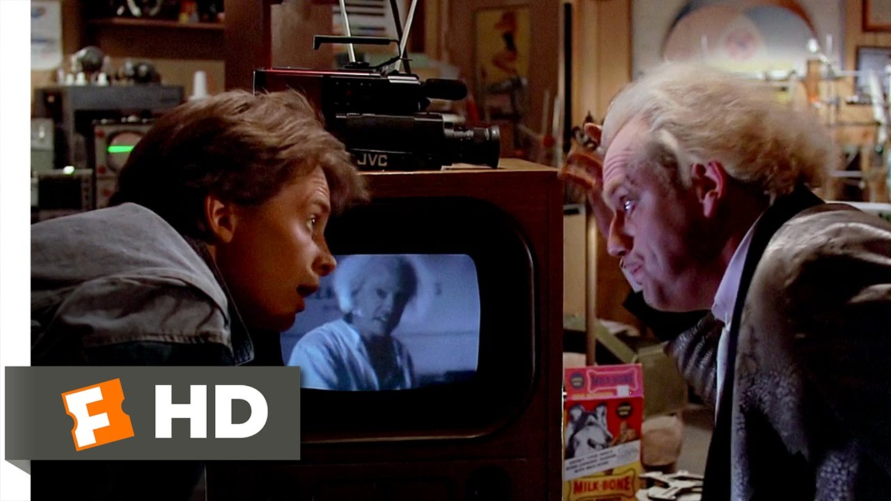 121 Gigawatts Back To The Future 610 Movie Clip 1985 Hd
