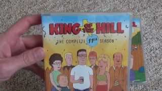 King of the Hill Seasons 11 and 12 DVD Unboxing and Review