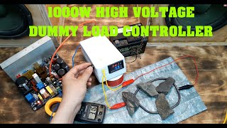 Simple 1000W High Voltage Dummy Load Controller | PDF share