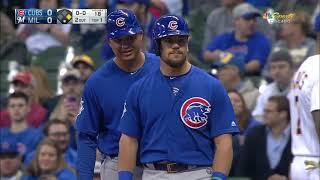 Chicago Cubs vs Milwaukee Brewers MLB 2018 Regular Season 06 04 2018