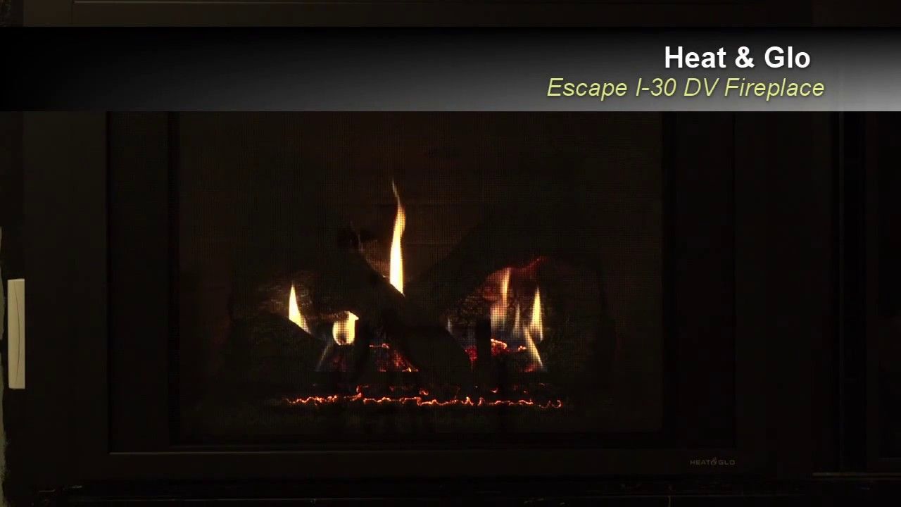 heat n u0027 glo escape i 30 at the fireplace shop ltd youtube