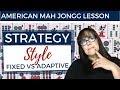 American Mah Jongg Strategy Style (mock card)