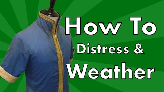 How to Weather & Distress Costumes