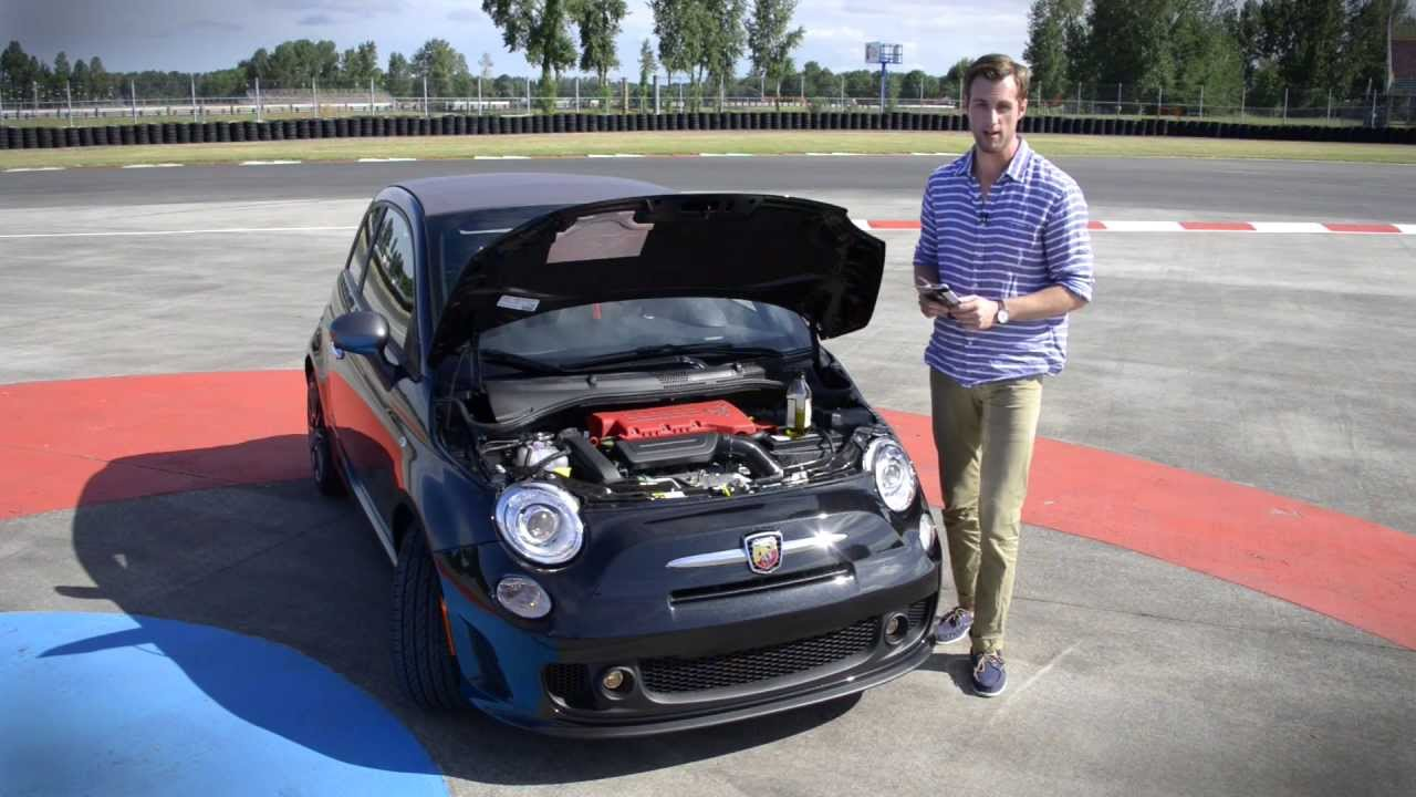 Fiat 500 Abarth Cabrio review - YouTube