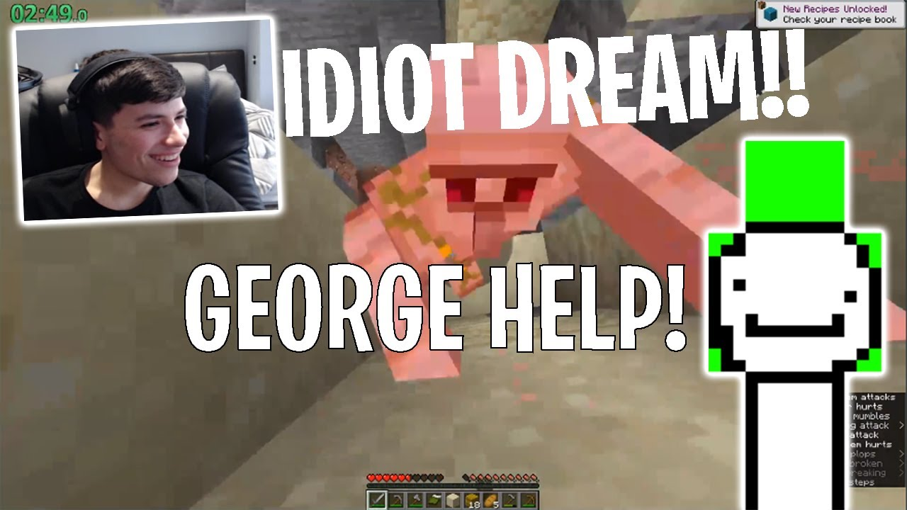 Dream & George's Worst Fails of All Time for 5 Minutes Straight