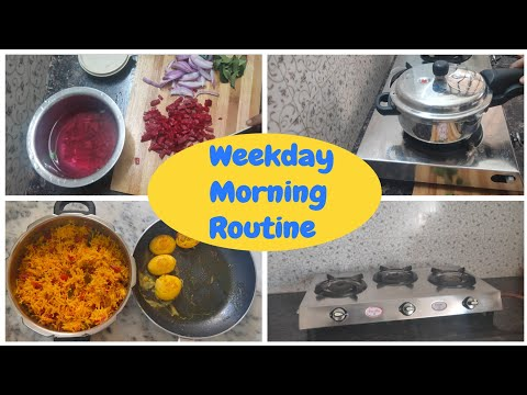   My Busy Weekday Morning Routine   Kids Lunch Box   Thalaivaazhai Tamil Kitchen Vlog  