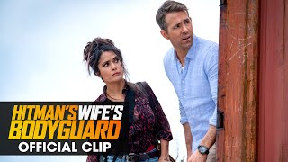"""The Hitman's Wife's Bodyguard (2021 Movie) Official Clip """"Boring Is Always Best"""" - Ryan Reynolds"""