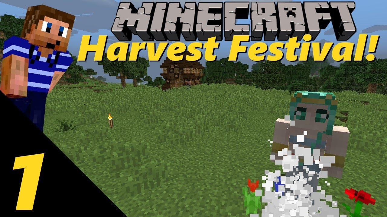 how to get a goddess flower in harvest festival minecraft