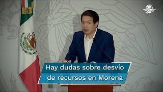 El pasado 9 de septiembre, 29 diputados federales entregaron un oficio a Mario Delgado, donde señalan una omisión en la rendición de cuentas, pues existe la duda de que se estén desviando recursos para aspirantes a cargos de elección popular o a la dirigencia de Morena
