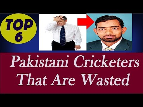 Top 6 Talented Cricketers Wasted by Pakistan Cricket Board | Pak Cricket