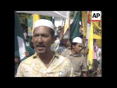 MALAYSIA: LEADERSHIP ELECTION CAMPAIGN UNDERWAY