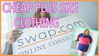 CHEAP Plus Size Clothing Haul w/ Swap.com