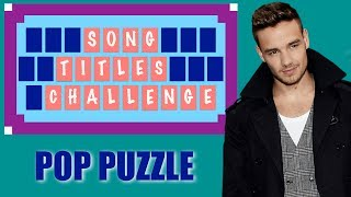 POP PUZZLES ★ Guess the Song Titles
