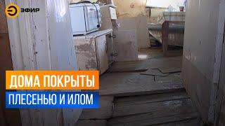 В посёлке Первомайский больше десятка участков ушли под воду