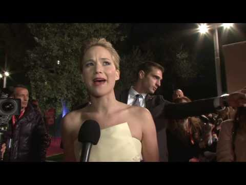 The Hunger Games: Catching Fire: Jennifer Lawrence Rome Premiere Interview