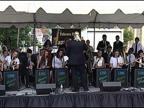 Silver Spring International Middle School Jazz Band