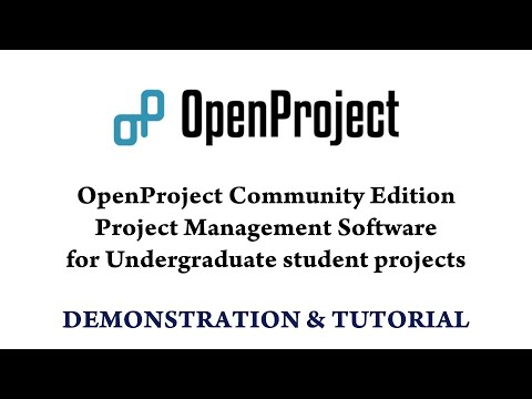 OpenProject Tutorial | DBIT EXTC Project Management Software
