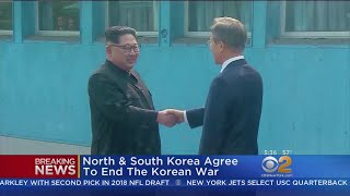 North & South Korea Agree To End The Korean War