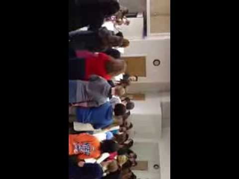 Helena Middle School Choir Phantom Of the Opera workshop in