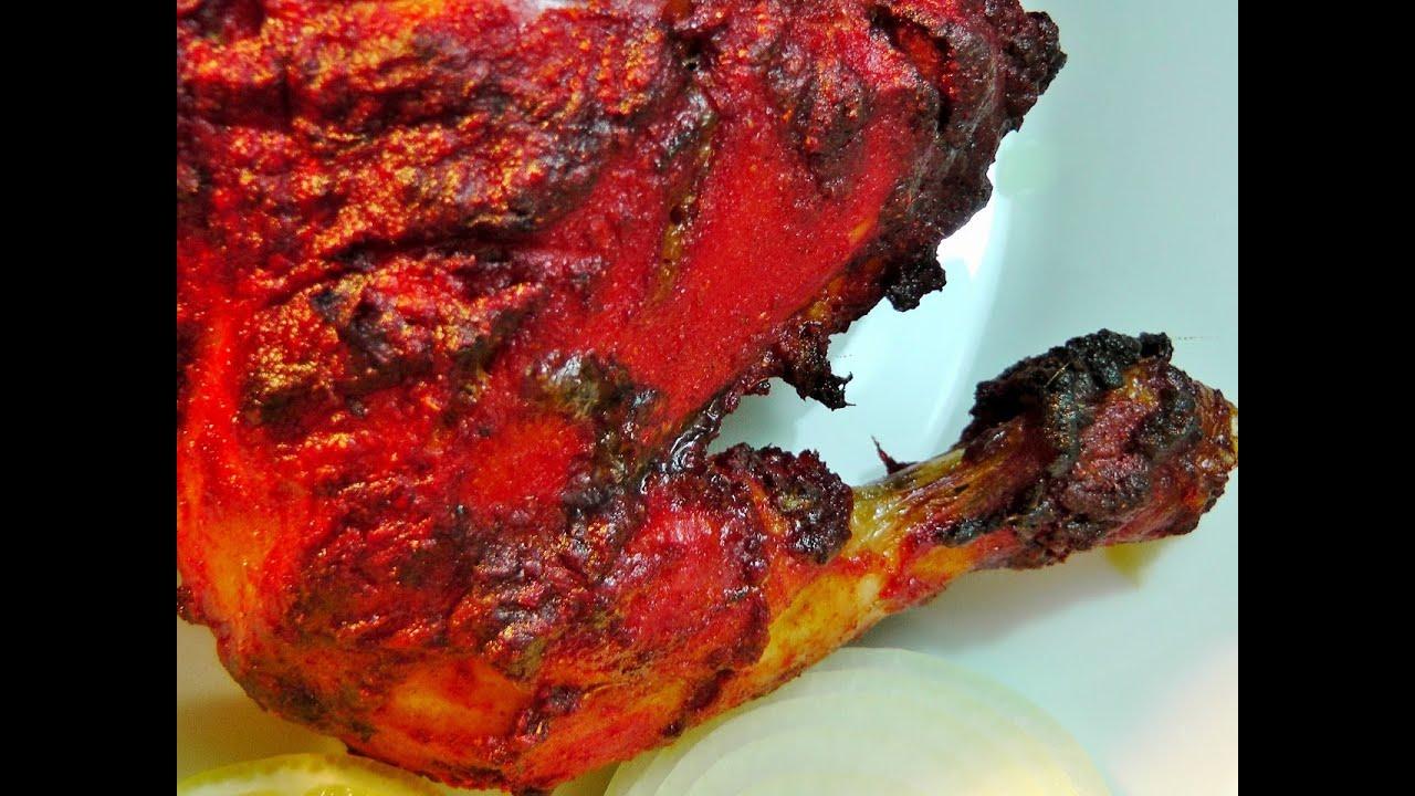 Authentic Tandoori Chicken Recipe