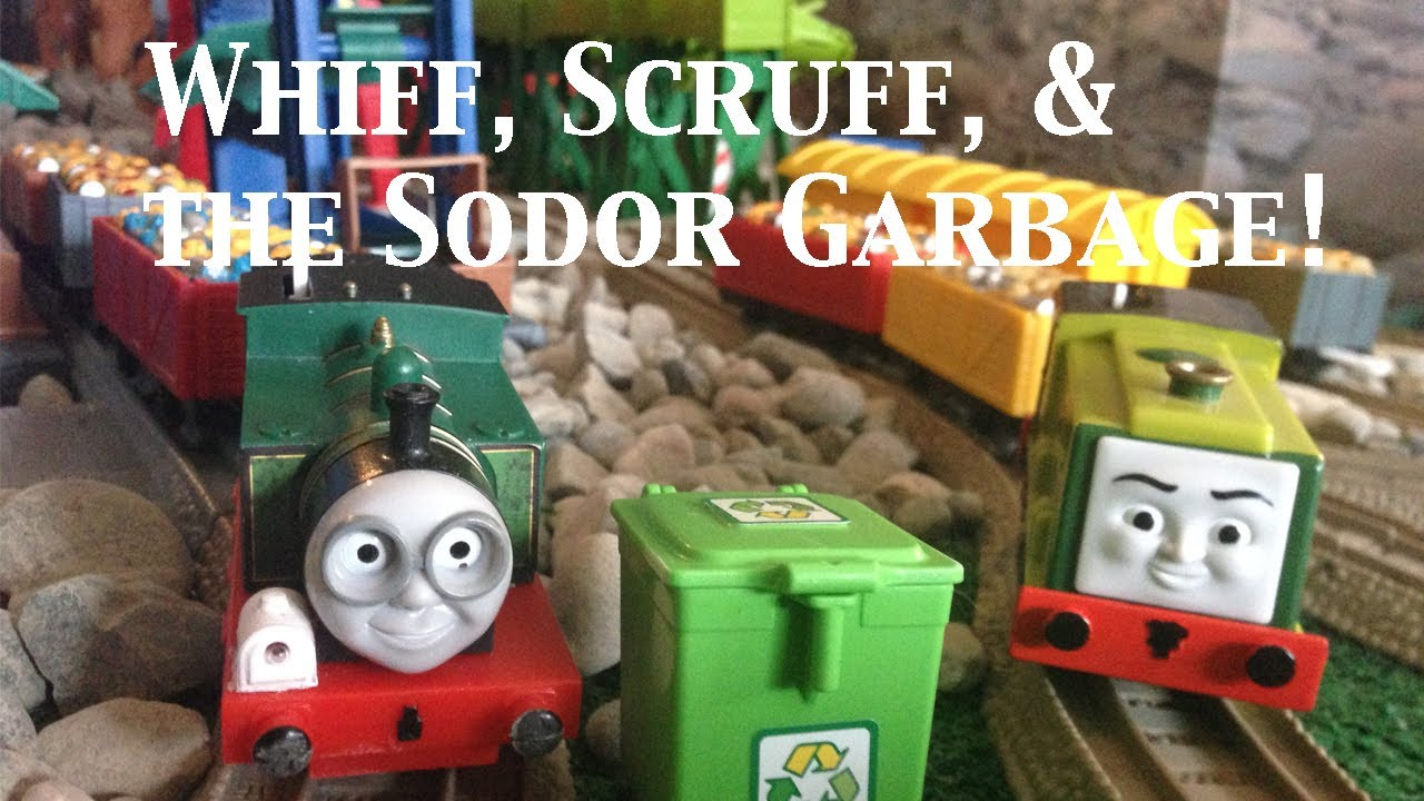 Thomas And Friends Trackmaster Village Whiff Scruff Amp The