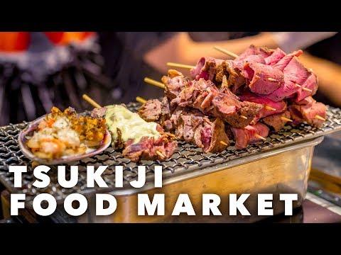 A Street Food PARADISE | Tsukiji Market, TOKYO