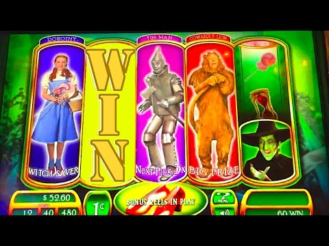 "HOW TO WIN HUGE & WALK OUT THE DOOR!!! ""RUBY SLIPPERS"" Slot Machine Bonus Win Videos - 동영상"