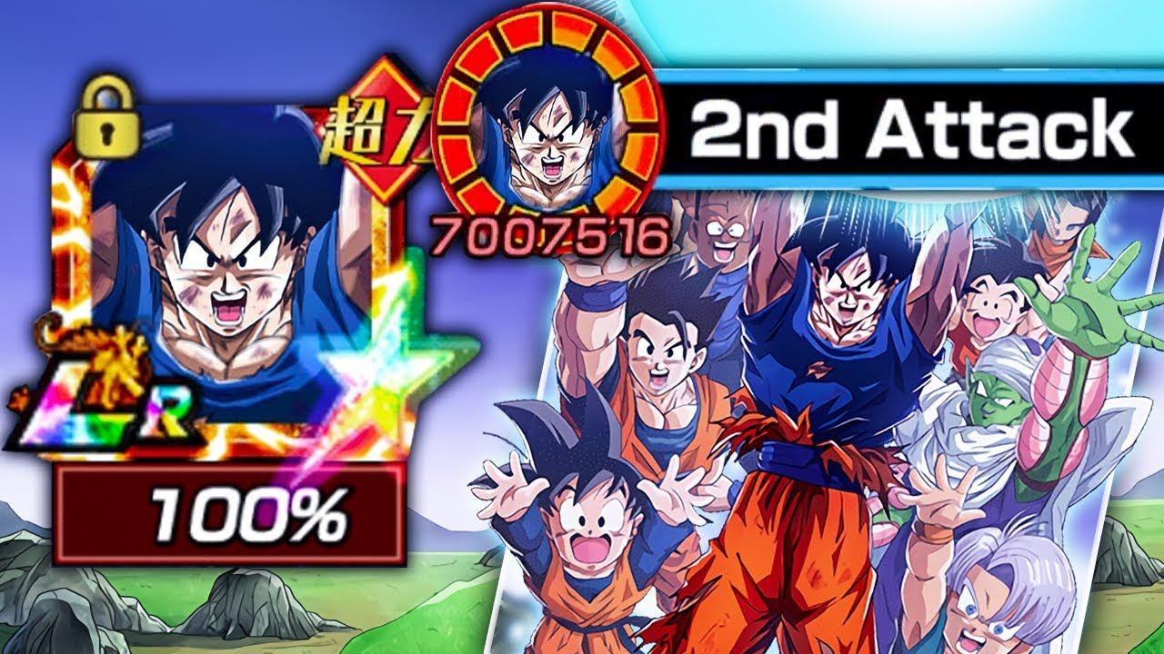 I Finally Got Him 100 Rainbow Star Lr 1 000 Day Spirit Bomb Goku Dbz Dokkan Battle Youtube