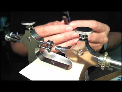 Watch Maker's Jacot Tool - Setup and Use