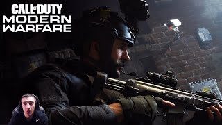 Call of Duty: Modern Warfare Trailer Reaction! (This Game Looks Insane)