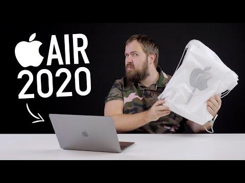 Новый девайс от Apple и распаковка MacBook Air 2020 + тест и ответ на главный вопрос