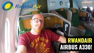 Rwandair A330 Business Class: THE LONG WAY TO SOUTH AFRICA!
