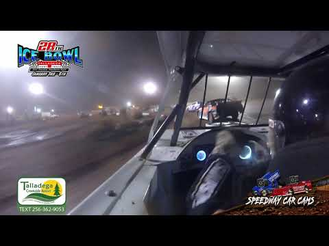 #26 David Gentry - Street Stock - 1-6-19 Talladega Short Track - In Car Camera