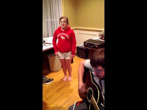 Wow! 12-yr-old singing Adele's Rolling in the Deep