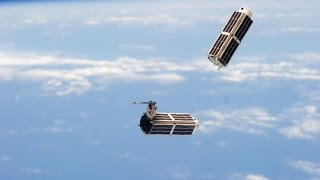 Space Station Live: Flock of CubeSats to Image Earth