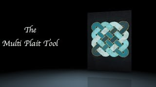 Celtic Design / Celtic Knot - Multi Plait Tool - For Quilt Blocks And Borders