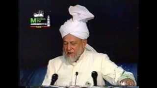 Address to Ladies, Jalsa Salana 31 July 1993.